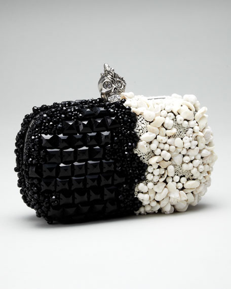 Two-Tone Punk Box Clutch