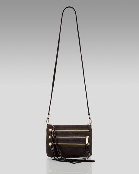Rocker Leather Crossbody Bag