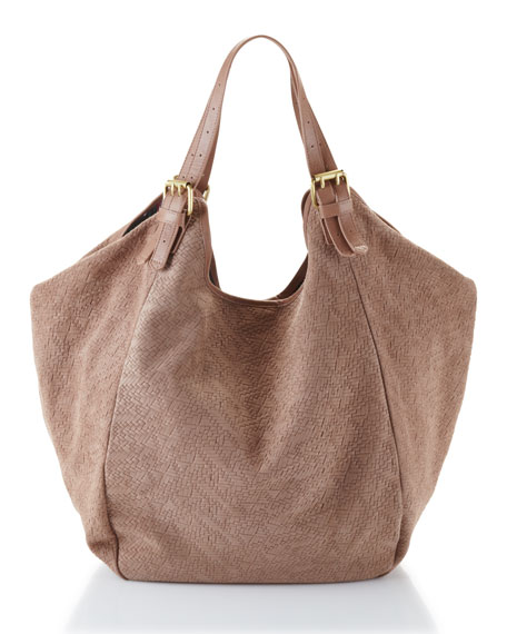 Berkeley Leather Tote Bag, Tobacco