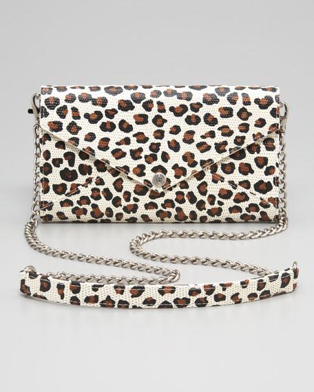 Cheetah-Print Shoulder Bag
