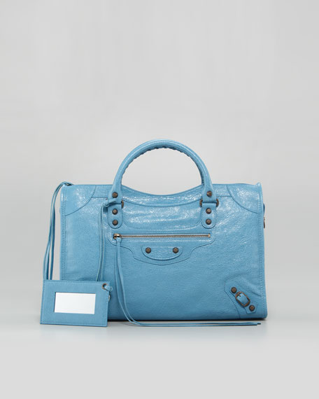 Classic City Bag, Blue Indigo