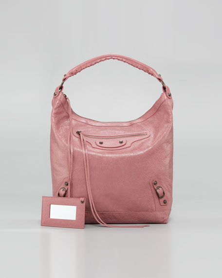 Classic Day Bag, Rose Bruyere