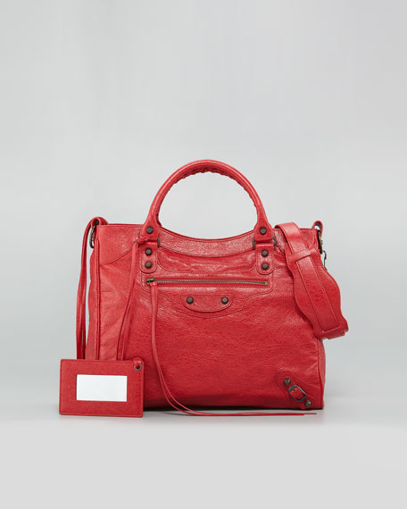 Classic Velo Bag, Coquelicot Rouge