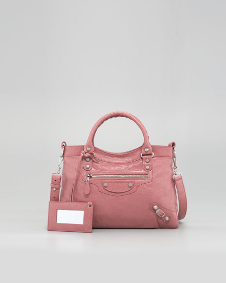 Giant 12 Nickel Town Bag, Rose Bruyere