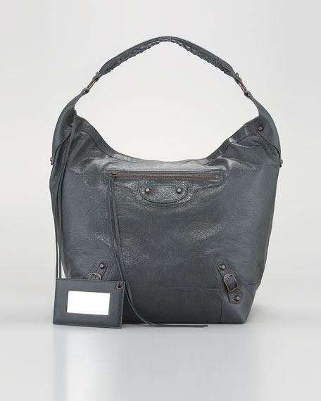 Classic Neo Hobo Bag, Anthracite