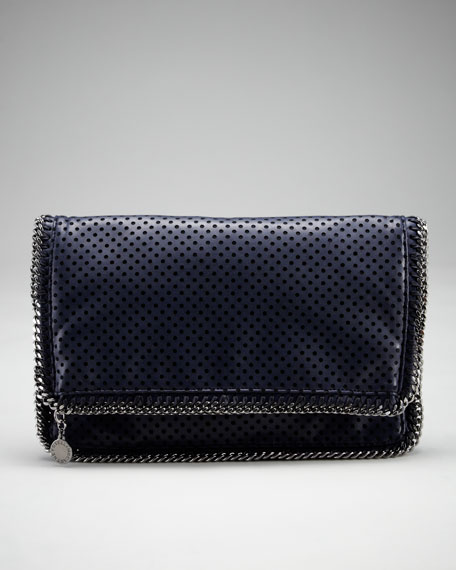 Perforated Fold-Over Clutch