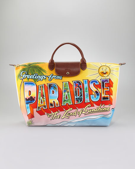 Jeremy Scott Paradise Tote Bag