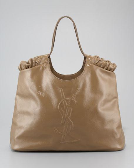 ysl beige patent leather handbag easy