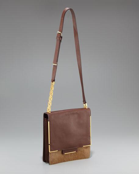 Madame Lanvin Fur Shoulder Bag