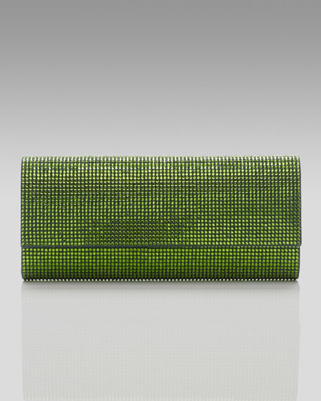 Ritz Fizz Clutch, Forest Green