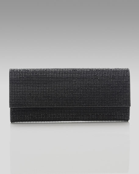 Ritz Fizz Clutch, Jet Black
