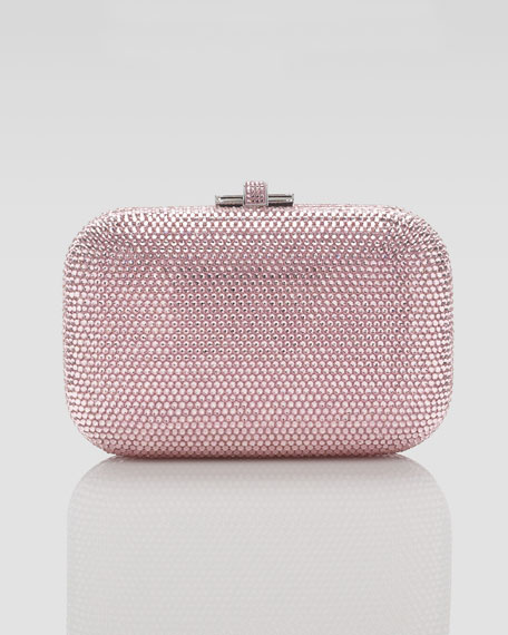 Slide Lock Minaudiere, Light Rose
