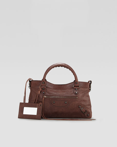 Classic First Tote Bag, Castagna/Chestnut