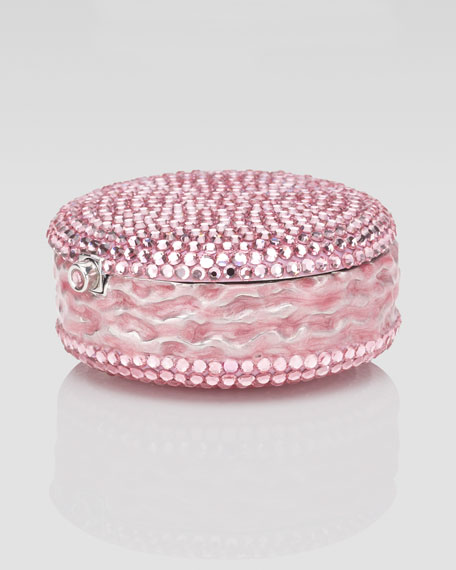Macaron Pillbox, Light Rose