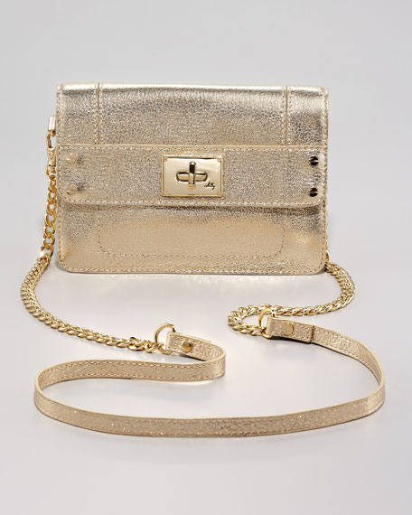 Mini Elle Bag, Metallic