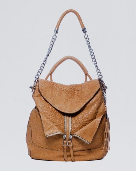 Zip-Front Hobo Bag