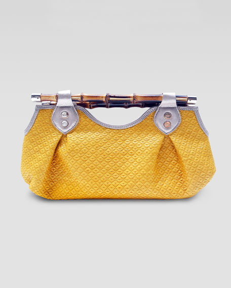 Summer Bamboo Clutch Bag