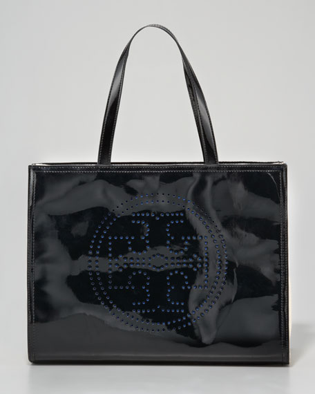 Perforated Logo Tote Bag, Small