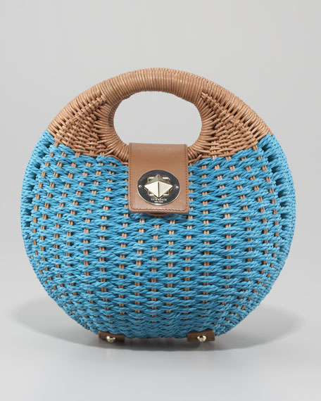 sherri little wicker satchel