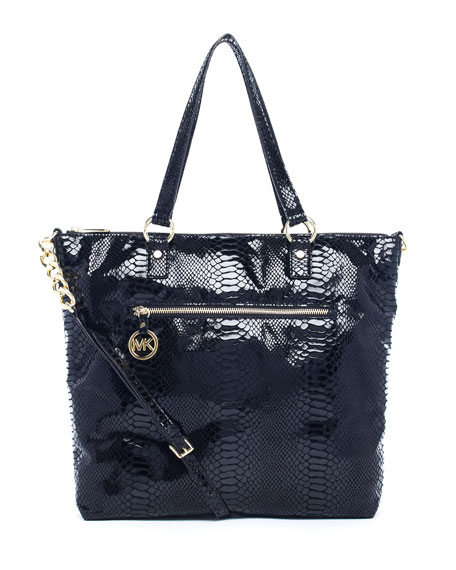 Fulton Large Tote Bag, Black