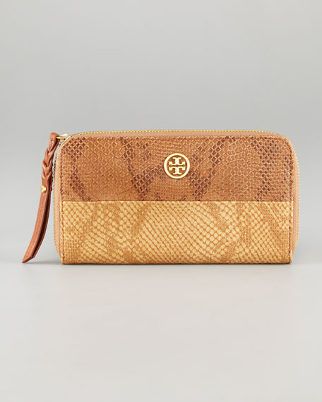 Farrah Zip Continental Wallet