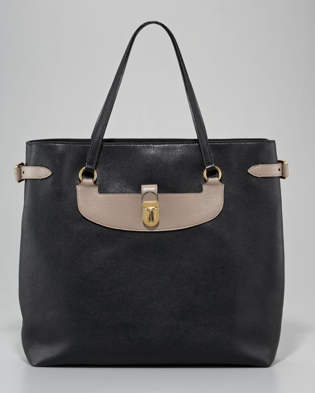 Manhattan Mercer Colorblock Tote Bag