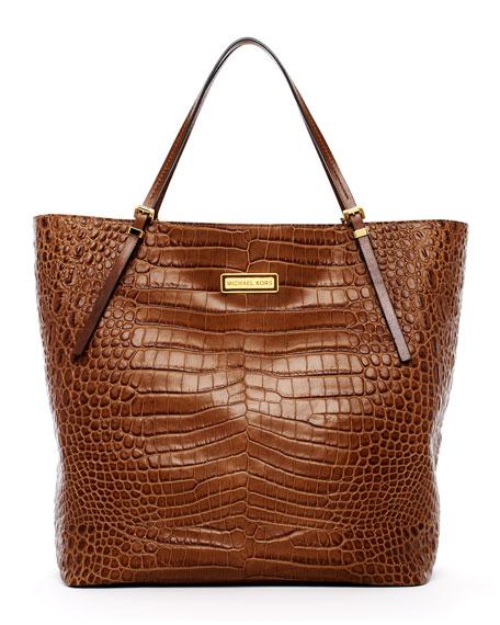 Gia Large Slouchy Tote Bag, Desert