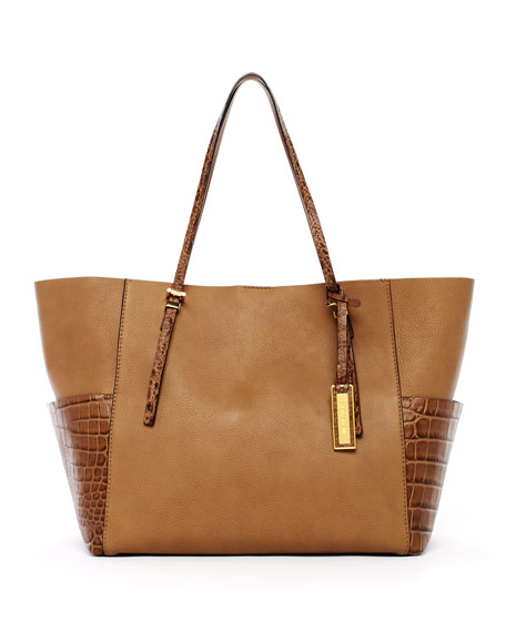 Gia Tote Bag with Pockets, Desert
