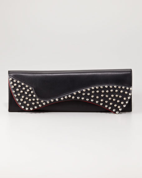 Pigalle Spike Clutch Bag