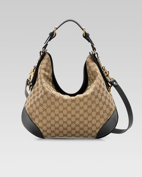 Gucci Patti Hobo Bag, Medium