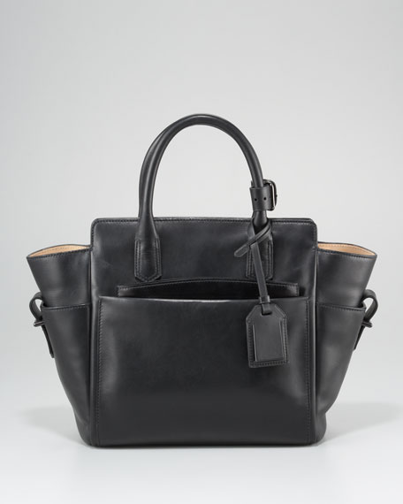 Mini Atlantique Tote Bag, Black Multi