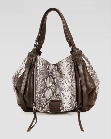 Jonnie Tote Bag, Gray