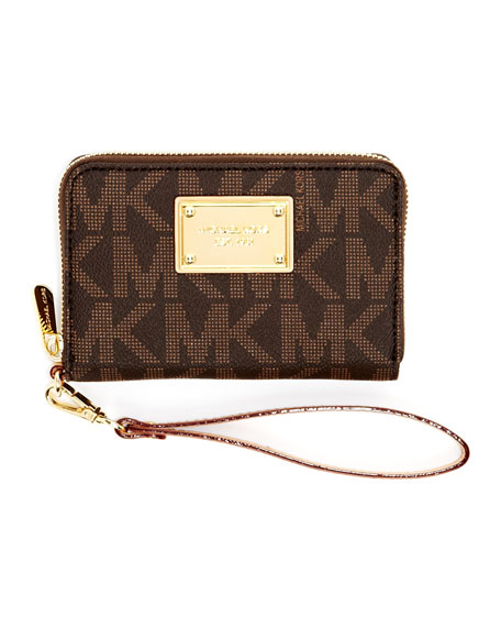 iPhone Zip Wallet, MK Monogram