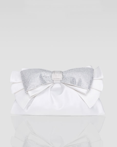 Valeria Bow Clutch Bag