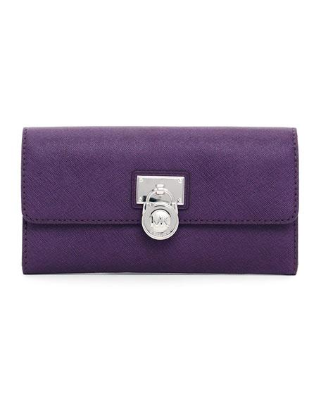 Hamilton Large Saffiano Wallet