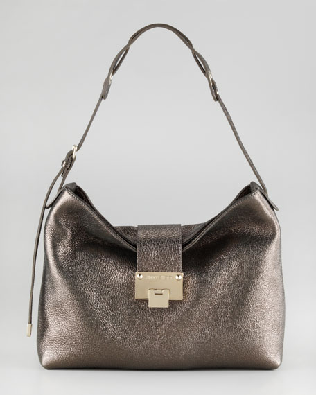 Rachel Glittering Leather Shoulder Bag