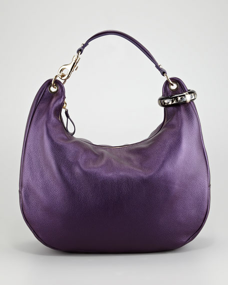 Solar Pearlescent Hobo Bag
