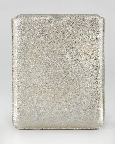 Tyler Glittery Leather iPad Sleeve