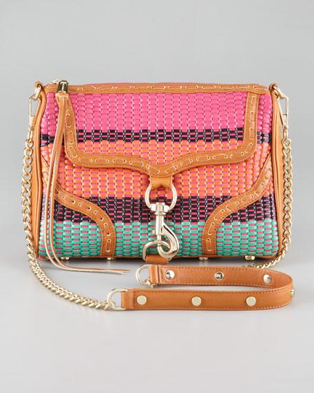 Woven MAC Bombe Handbag