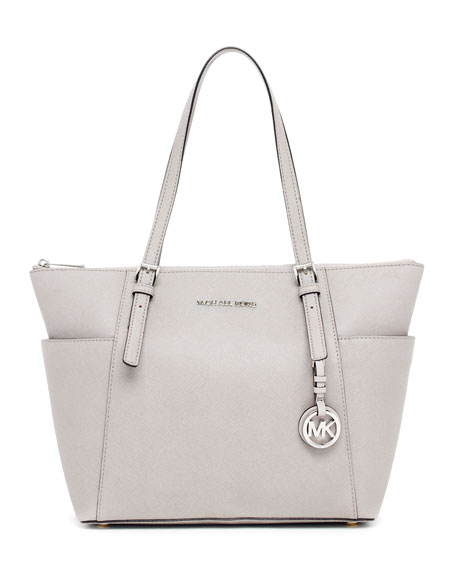 Jet Set Zip-Top Tote Bag