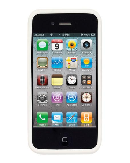 Silicone Logo iPhone 4 Case