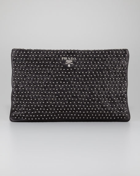 Soft Calfskin Clutch Bag