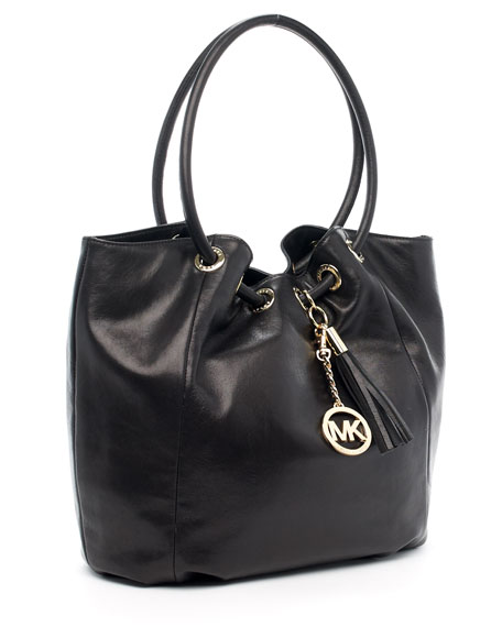 Ring Tote Bag, Black