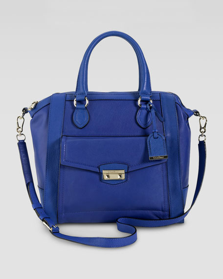Zoe Structured Satchel Bag