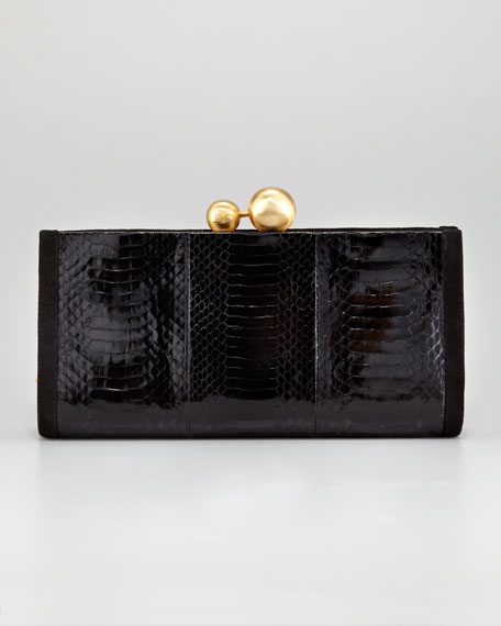 Marilyn Snake Clutch Bag