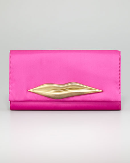 Carolina Lips Clutch Bag