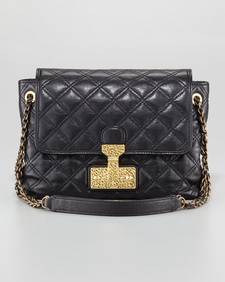 The Single Baroque Quilted Bag, Large
