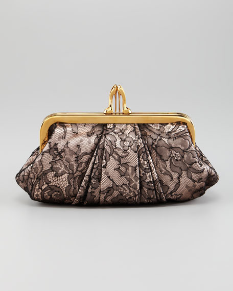 Mini Loubi Lula Lace Clutch Bag