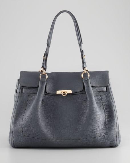 Fara Front-Flap Satchel Bag