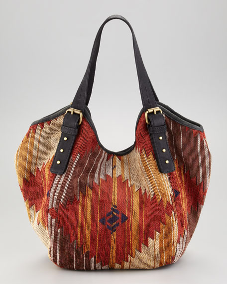 Santa Fe Ikat Classic Berkeley Bag, Mini